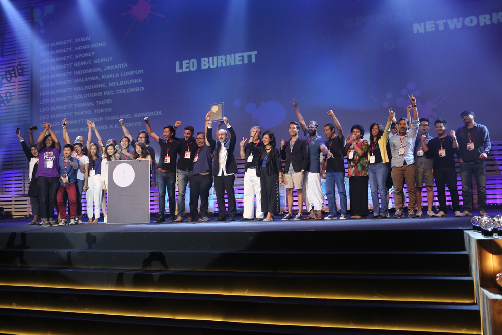 Leo Burnett Asia Pacific Named Network of the Year at ADFEST 2015