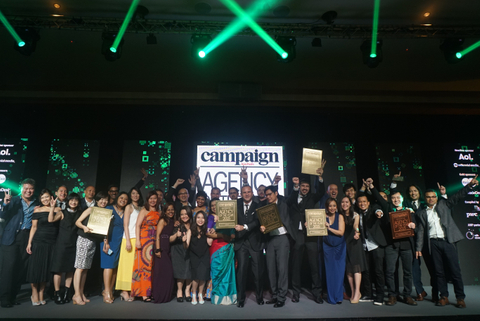 Leo Burnett Named Southeast Asia Creative Agency of the Year at Campaign Asia Agency of the Year Awards 2015